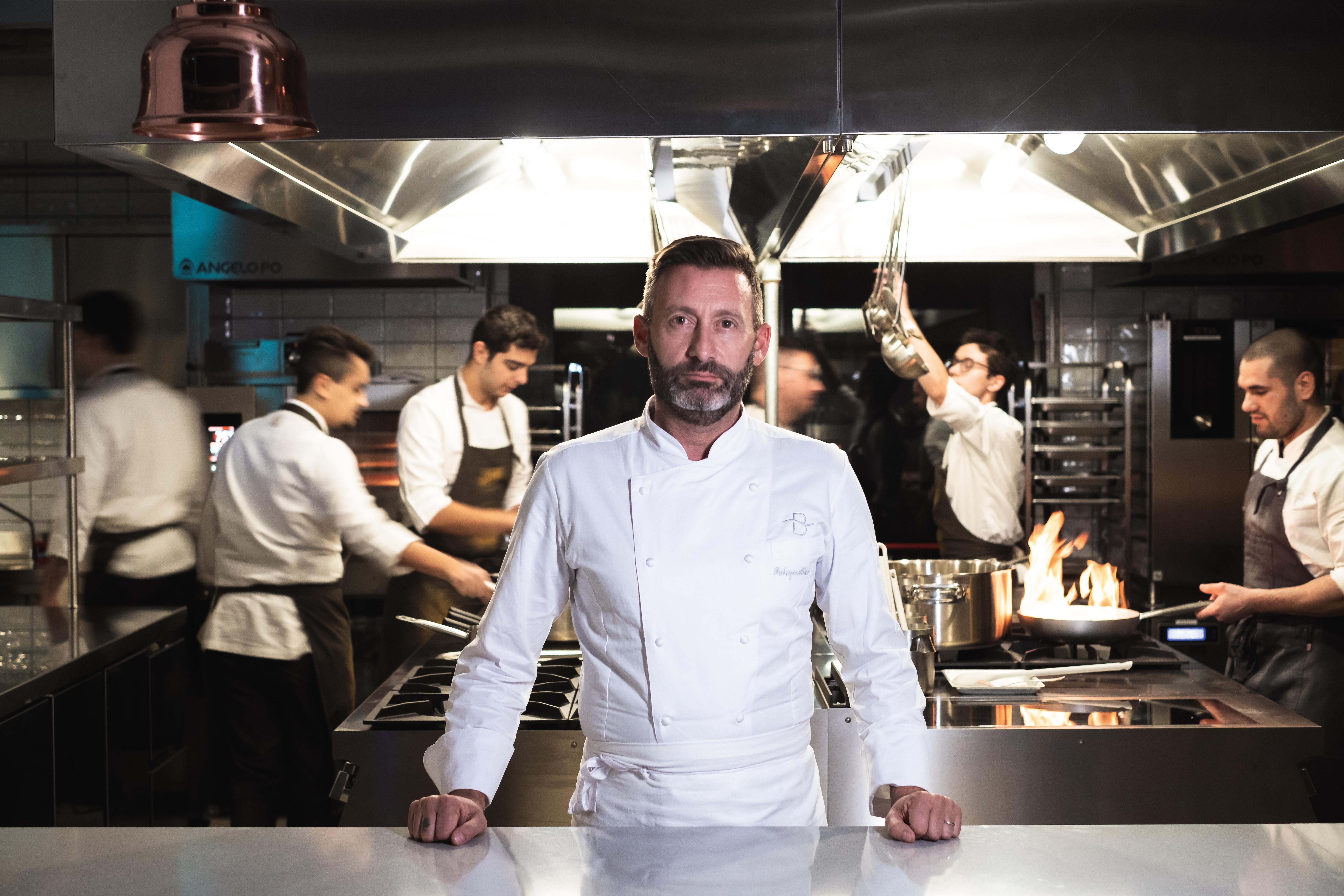Bianca sul Lago_lo chef Fabrizio Albini