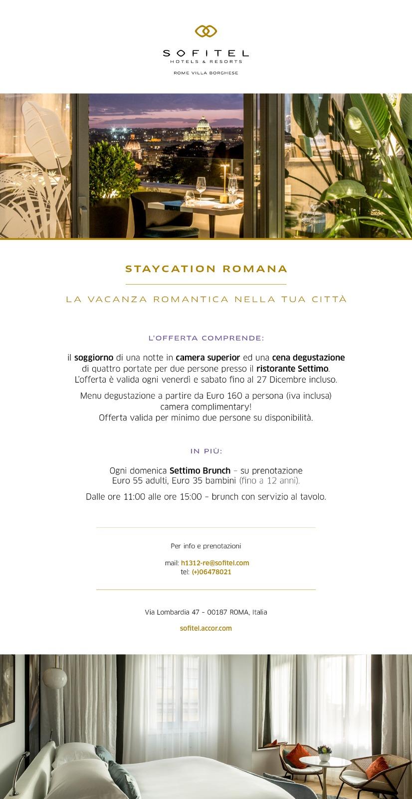 Staycation e Brunch - Settimo